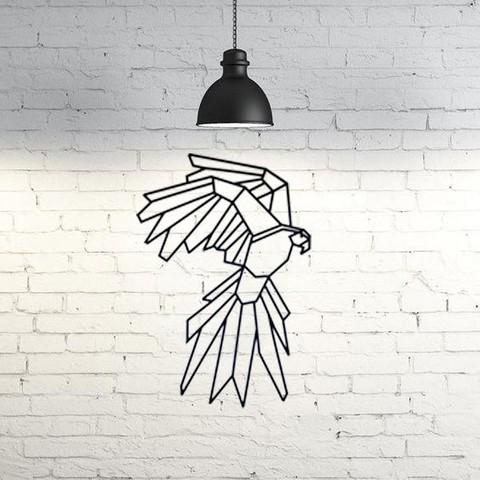 Descargar archivos 3D gratis Parrot Wall Sculpture 2D, UnpredictableLab