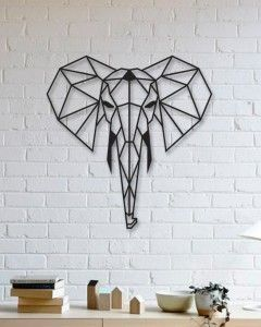 2f055265f43a4bbe2a41495bacd335bf_display_large.jpg Download free STL file Elephant Wall Sculpture 2D • 3D printable object, UnpredictableLab