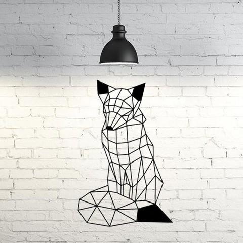 3D print model Fox III wall sculpture 2D, UnpredictableLab