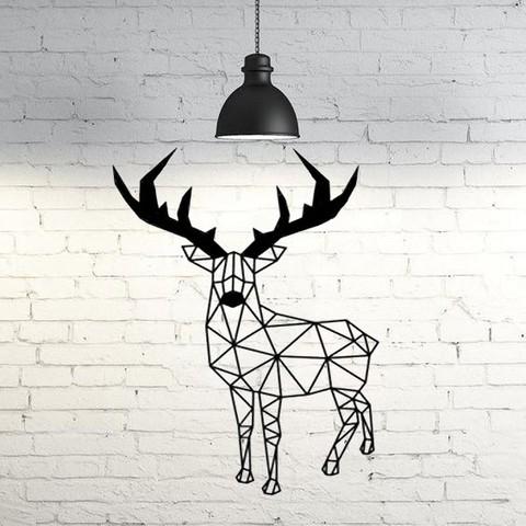 3D print model Deer wall sculpture 2D, UnpredictableLab