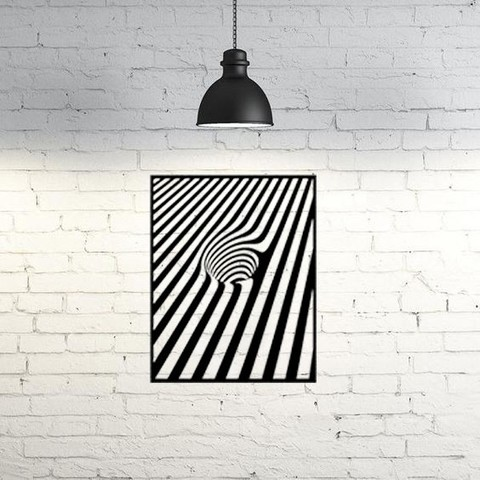 Download free 3D printing designs Optical Illusion  2D, UnpredictableLab