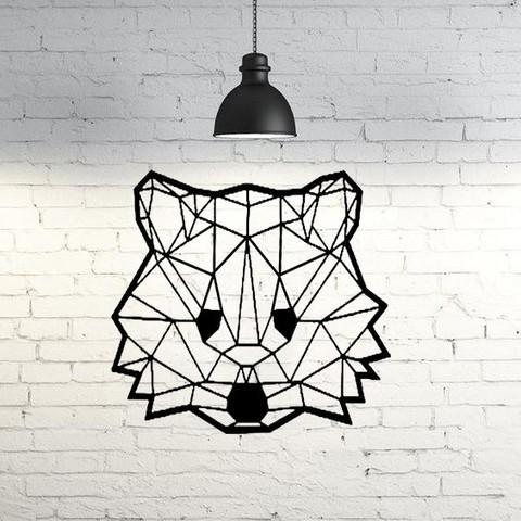 Download 3D printer model Koala face wall sculpture 2D, UnpredictableLab