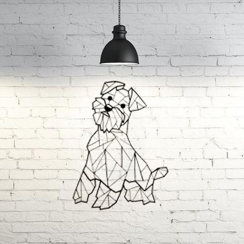 Descargar modelos 3D gratis Escultura de pared para perro Scottie 2D, UnpredictableLab