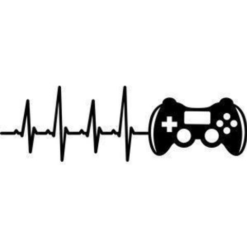 f3a14e8f661bcde73dcd812810cca065_display_large.jpg Download free STL file Heart Beat Gaming I Music I Climbing  2D • 3D printable template, UnpredictableLab