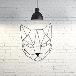3D print model Geometric Cat 2D, UnpredictableLab