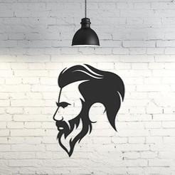 63.Man.jpg Télécharger fichier STL Silhouette Homme 2D • Modèle imprimable en 3D, UnpredictableLab