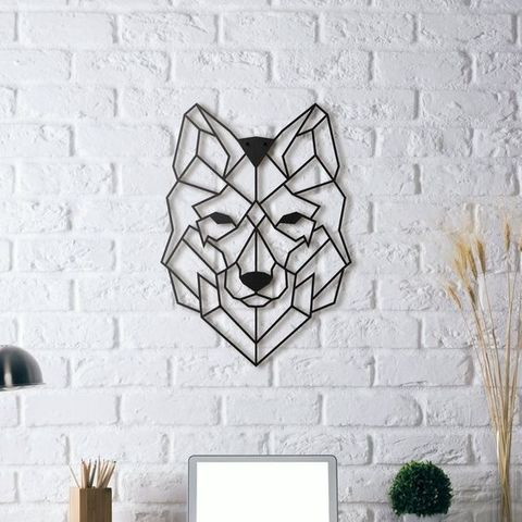 Descargar archivo 3D gratis Wolf Wall Sculpture 2D, UnpredictableLab