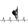 Free STL Heart Beat Gaming I Music I Climbing  2D, UnpredictableLab