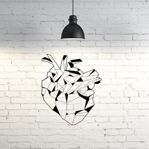 Download 3D printing designs Bio heart wall sculpture 2D, UnpredictableLab