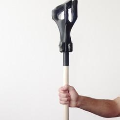 3D printer models Extra Sorcerer's staff, sev3do