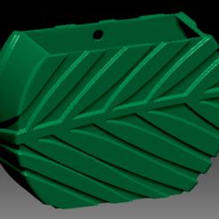 Download STL file Palm Vase • 3D print design, apcks