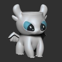 LightFury.png Download STL file Light • Model to 3D print, apcks