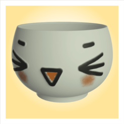 rp2 (Small).png Download STL file Cute pot 2 • Template to 3D print, apcks
