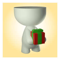 22 (Small).png Download STL file Beto with present pot  • Template to 3D print, apcks