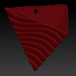 ondas.png Download STL file Tetrahedron vase • 3D print object, apcks