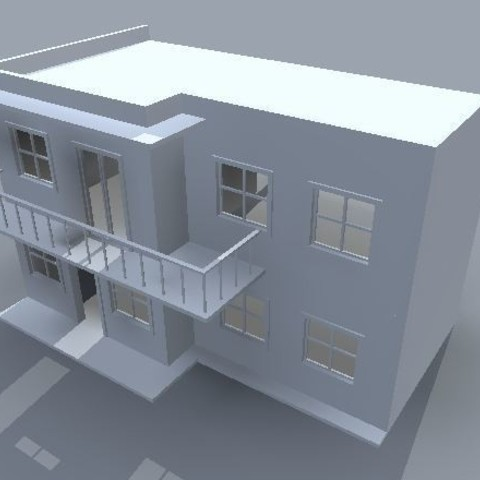Descargar modelos 3D para imprimir Casa de muñecas STL archivo, maq04realestate