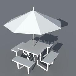 Plan imprimante 3D Tente de pique-nique, maq04realestate