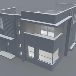Descargar modelos 3D Carpeta STL de diseño moderno de Casa de Muñecas, maq04realestate