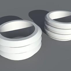 Télécharger plan imprimante 3D Jardinières en pot, jardinière de bonsaïs, maq04realestate
