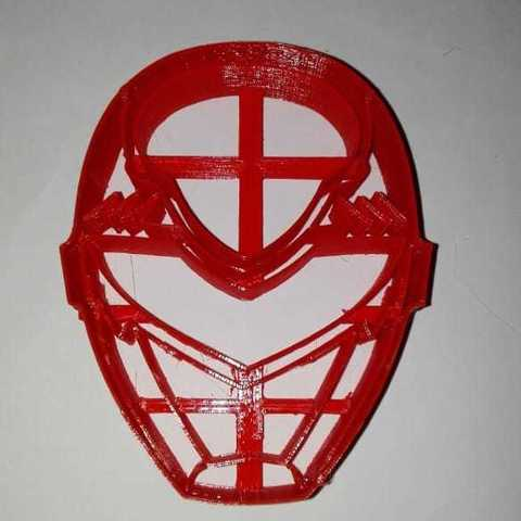 Download 3D printer templates Power Ranger Cookie Cutter, Maxi2580