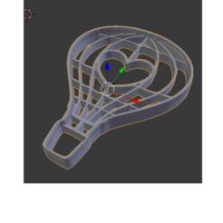 3D print model Ballon Heart Cookie Cutter Globe Cutter, Maxi2580