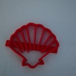 Descargar modelos 3D  sea shell cookie cutter, Maxi2580