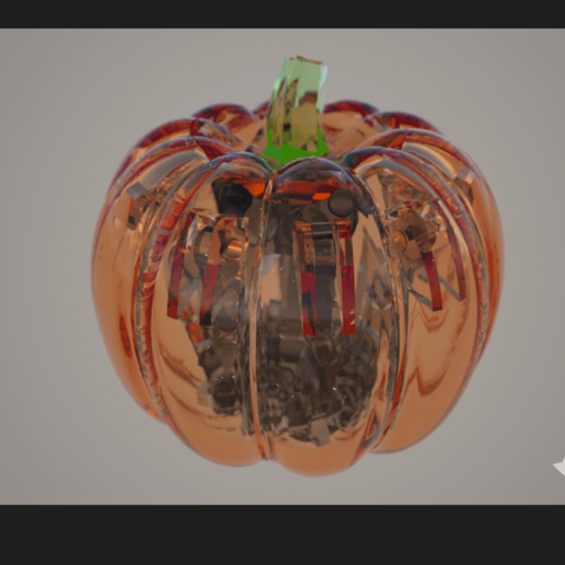 Screenshot (1716).png Download STL file Print-In-Place Pumpkin Spider  • Template to 3D print, Megawillbot
