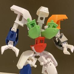 image0 (7).jpg Download STL file Benchus Maximus- Benchy combiner • 3D printer model, Megawillbot