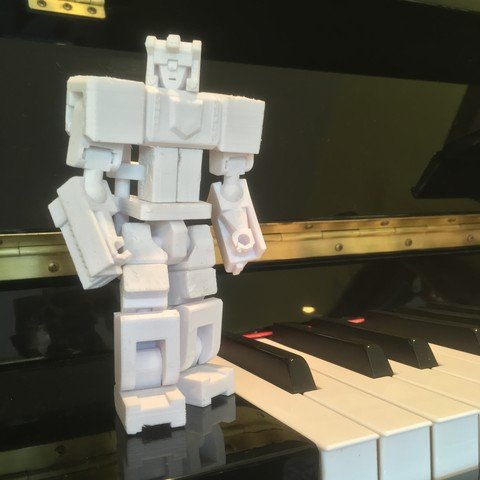 Download free STL file Tusks: The 3D-Printable Piano Transformer!, Megawillbot