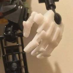 Download free 3D print files Articulated Bionicle Hand, Megawillbot