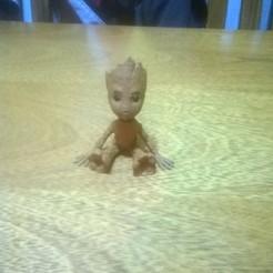 Free stl Baby Groot, matysgarcia