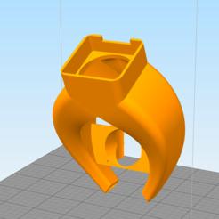 Fichier 3D Volcan Fang 40mm et 30mm Axial, ruuu2010