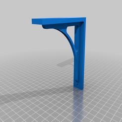 Self_Holder.png Download free STL file Simple Wood Self Holder • 3D printable model, kfilosofou