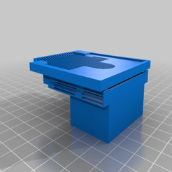 HDB_support_LE_for_Extruder_with_Supports_V2.png Download free STL file Fabtotum XY Hotend holder for E3D Hotend • 3D printer object, kfilosofou