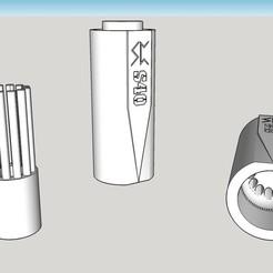 Free 3d printer files Airsoft 40mm Grenade speed loader, Snorri