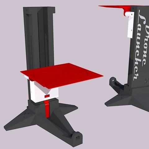 Objet 3D gratuit Lanceur de Micro Drone, Snorri
