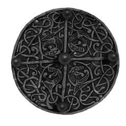 Descargar STL gratis Broche Galloway Hoard, Snorri