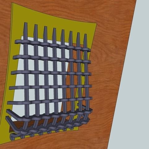 Free 3D Printer Designs Door Grate, Snorri