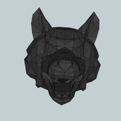 a59364d108b080db3b09f4ebac53907b_display_large.jpg Download free STL file Wolf head flash hider for airsoft • 3D printing design, Snorri