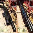 634c35679aa0e3b7e7da4e130e613571_display_large.jpg Download free STL file Ymir - Airsoft Shotgun/grenade launcher • 3D print design, Snorri