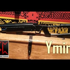 Download free STL files Ymir - Airsoft Shotgun/grenade launcher, Snorri