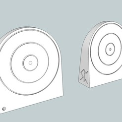 Download free STL files Airsoft Target, Snorri