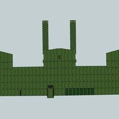 Free STL file Futuristic Lamellar Armor, Snorri