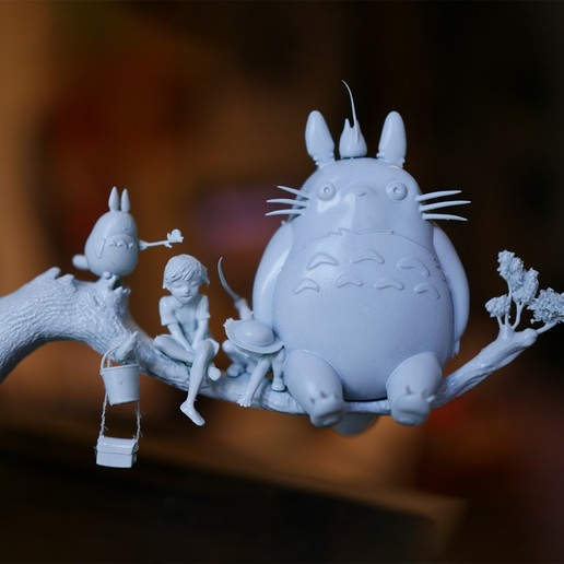 Impresiones 3D Totoro, Snorri