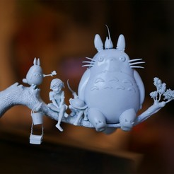 Download STL files Totoro, Snorri