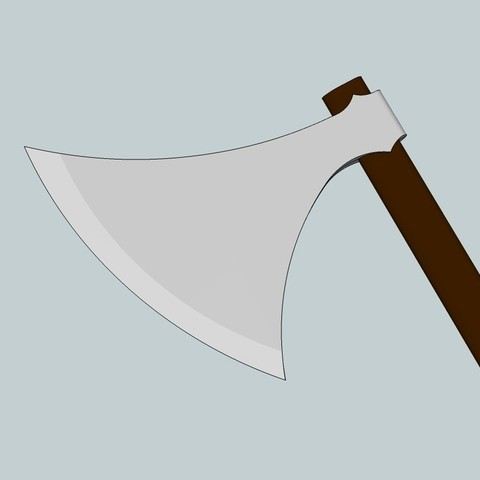 Download free 3D printer model Viking Dane axe ・ Cults