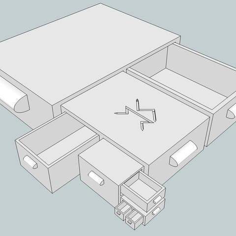 Télécharger fichier 3D gratuit Tiroir de réception, Snorri