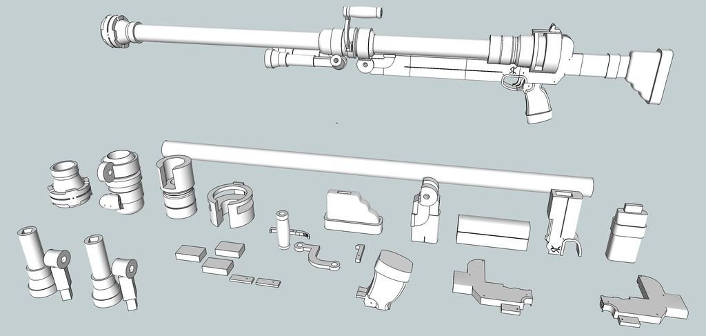c5476e036ec767f444ebcd91f4dfe439_display_large.jpg Download free OBJ file Hellsing ARMS Anti-Tank Cannon - Harkonnen - Airsoft grenade launcher • 3D printing design, Snorri