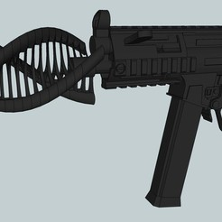 Download free STL Airsoft threaded silencer or something..., Snorri