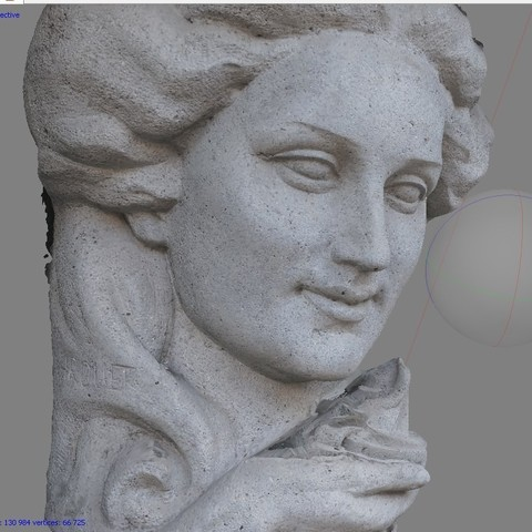 fe4fe924d12e934efabdc10f634cee74_display_large.jpg Download free OBJ file Maurice Xhrouet's woman head statue • 3D printable template, Snorri